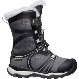 KEEN Youth Terradora Winter Waterproof Boot - 9 - Raven / Vapor