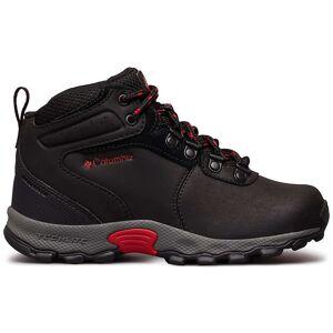 Columbia Footwear Columbia Youth Newton Ridge Boot - 3 - Black / Mountain Red