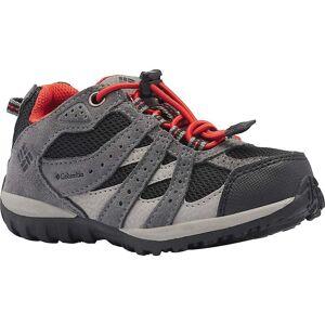 Columbia Footwear Columbia Kids' Redmond Waterproof Boot - 8 - Black / Flame