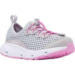 Columbia Footwear Columbia Youth Vent Shoe - 4 - Grey Ice / Orchid