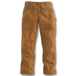 Carhartt Men's Washed-Duck Work Dungaree Pant - 42x34 - Carhartt Brown