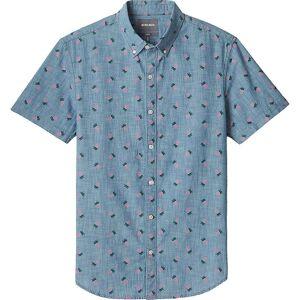 Bonobos Men's Riviera Shirt - XS Regular - Pineapple Drive - Pink Gin