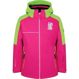 Dare 2B Kid's Labyrinth Jacket - 3-4 - Cyber Pink /  Neon Green