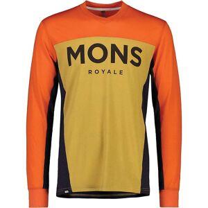 Mons Royale Men's Redwood Enduro VLS Top - Medium - Desert Alchemy