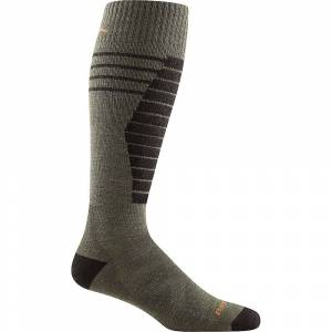 Darn Tough Vermont Darn Tough Men's Edge Midweight Padded Cushion Sock - Medium - Cedar