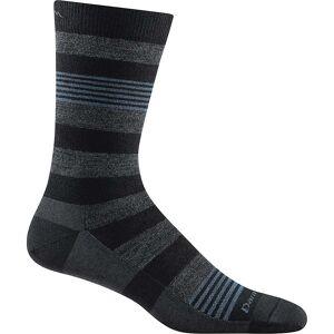 Darn Tough Vermont Darn Tough Men's Oxford Crew Light Sock - Medium - Black