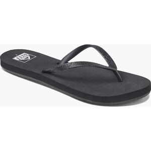 Reef Women's Stargazer Sandal - 6 - Black / Black