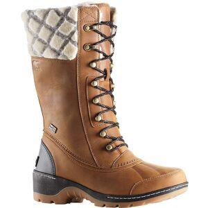 Sorel Women's Whistler Tall Boot - 7 - Camel Brown / Black