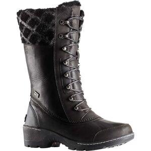 Sorel Women's Whistler Tall Boot - 8 - Black / Dark Stone