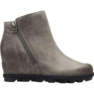 Sorel Women's Joan Of Arctic Wedge II Zip Boot - 10.5 - Quarry