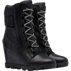 Sorel Women's Joan Uptown Mid Lace Boot - 8.5 - Black