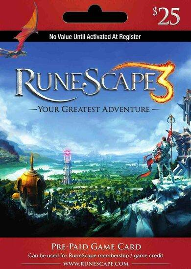 Jagex RuneScape $25 USD Key UNITED STATES