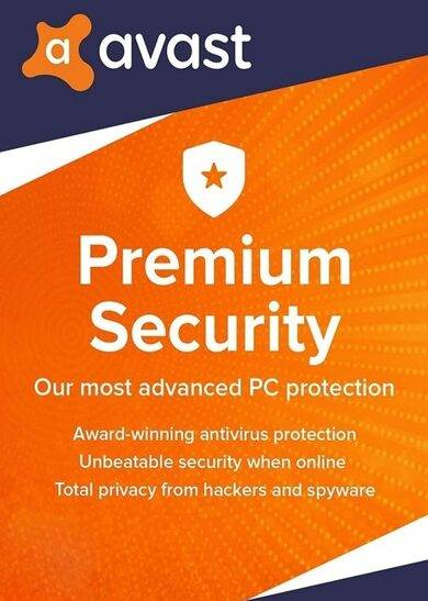 Avast Premium Security 5 Device 2 Year Avast Key GLOBAL