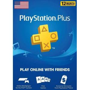 Sony PlayStation Plus Card 365 Days (USA) PSN Key UNITED STATES