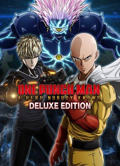 BANDAI NAMCO Entertainment One Punch Man: A Hero Nobody Knows - Deluxe Edition Steam Key GLOBAL