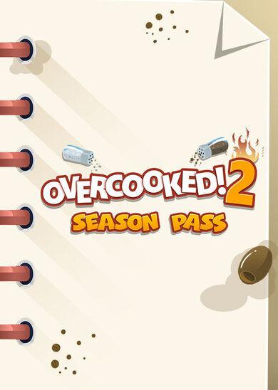 Team17 Digital Ltd Overcooked! 2 - Season Pass (DLC) Steam Key GLOBAL