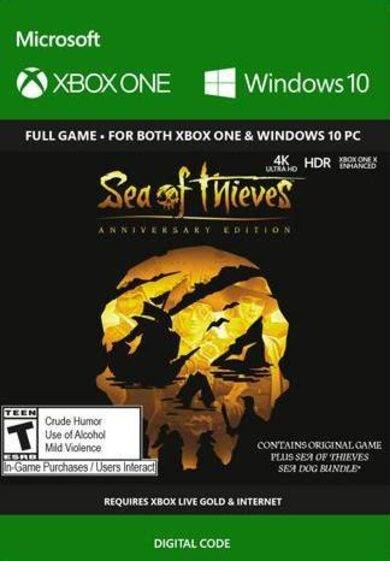 Microsoft Sea of Thieves: Anniversary Edition (PC/Xbox One) Xbox Key UNITED STATES