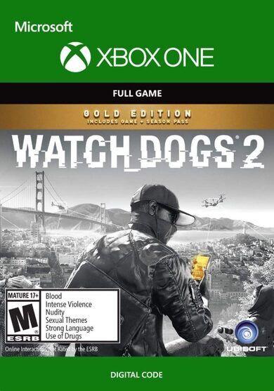 Ubisoft Watch Dogs 2 (Gold Edition) (Xbox One) Xbox Live Key GLOBAL
