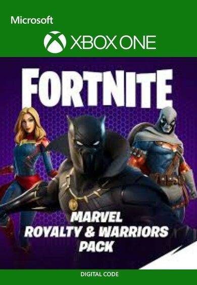 Epic Games Fortnite - Marvel: Royalty & Warriors Pack XBOX LIVE Key UNITED STATES