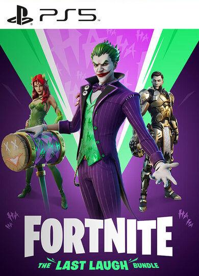 Epic Games Fortnite: The Last Laugh Bundle + 1000 V-Bucks (PS5) PSN Key UNITED STATES