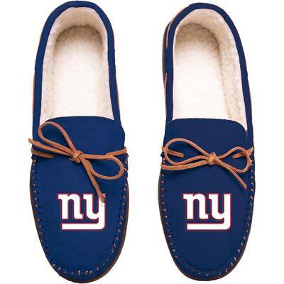 FOCO New York Giants Big Logo Moccasin Slippers
