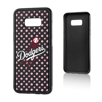 Strategic Printing Los Angeles Dodgers Galaxy S8 Plus Baseball Bump Case