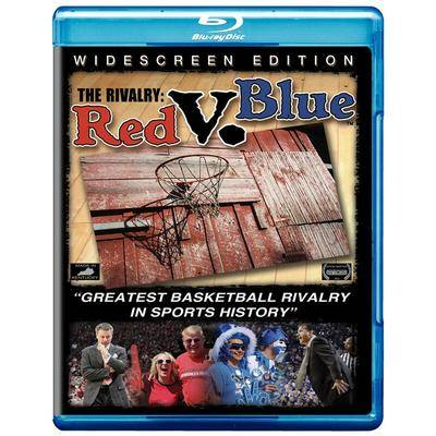 WaxWorks, Inc. Kentucky Wildcats The Rivalry: Red V. Blue Blu-Ray Disc