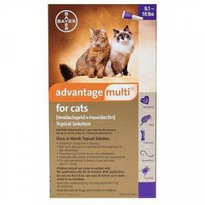 Advantage Multi Advocate Advantage Multi (Purple) for Cats over 10lbs 6 Doses