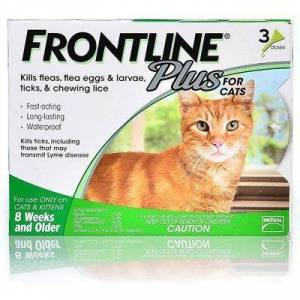 Frontline Plus For Cats 6 Doses