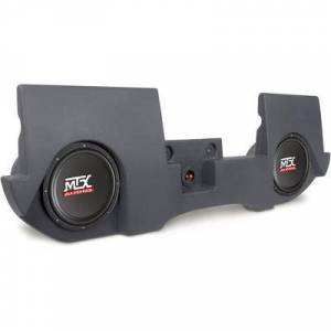 """MTX T-Form 02-up Ram Quad Cab Charcoal incl. two 10"""""""" subs and 200W amp"""""""