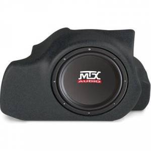 "MTX T-Form 05-09 Mustang Black w/12"""" Sub and 200W Amp"""