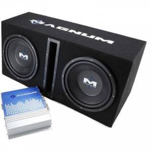"""MTX MB210SP Dual 10"""""""" Slot Vent and 250w RMS Amp"""""""