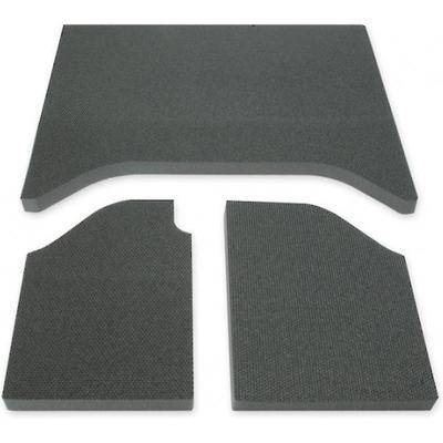 Boom Mat Jeep Sound Deadening 07-10 Wrangler 3-Piece, 2-Door Black