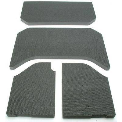 Boom Mat Jeep Sound Deadening 07-10 Wrangler 4-Piece, 4-Door Black