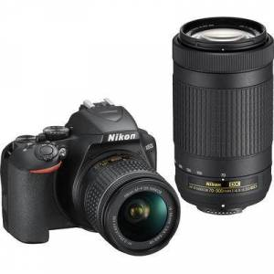 Nikon D3500 Double Zoom Lens Kit- includes 18-55mm f3.5-5.6VR and 70-300mm f/4.5-6.3ED