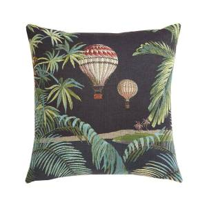 Iosis Orenoque Duo Nuit Decorative Pillow by Iosis