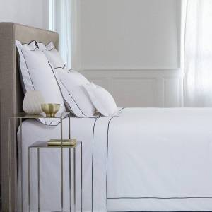 Yves Delorme Flandre Marine Bedding by Yves Delorme