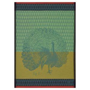 Le Jacquard Francais Planche Animal Paon Moss Tea Towels