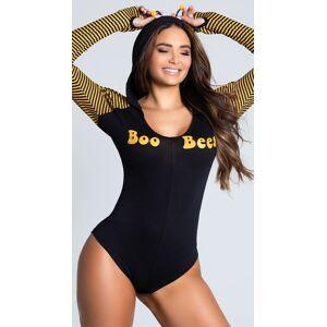 Espiral Yandy Yandy Boo Bees Loungewear Costume by Espiral Yandy, Black, Size S