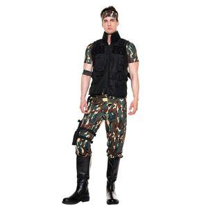 Music Legs Men's Army Salute Costume by Music Legs, Size L - Yandy.com