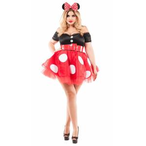 Party King Plus Size Coquette Mouse Costume by Party King, Size 3X - Yandy.com
