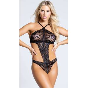 Shirley of Hollywood Romantic Teddy by Shirley of Hollywood, Black, Size S - Yandy.com