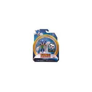 Jakks Pacific Action Figure - Sonic the Hedgehog - Sonic - 4 Inch - Wave 3 - Soccer Ball