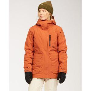 Billabong A/DIV Women's Trooper STX Snow Jacket  - Red - Size: Medium