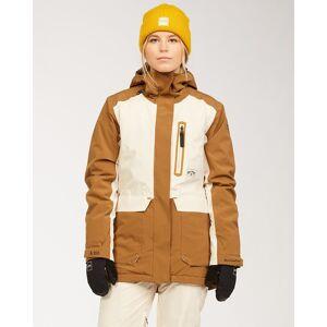 Billabong A/DIV Women's Trooper STX Snow Jacket  - Brown - Size: Small