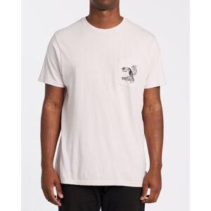Dominical Pocket Short Sleeve T-Shirt  - Purple - Size: Large