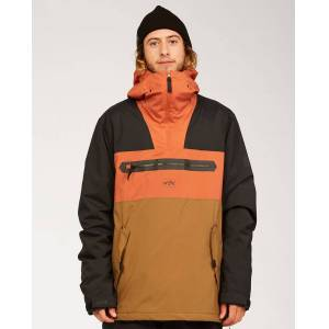 Billabong Quest Jacket  - Brown - Size: Extra Large