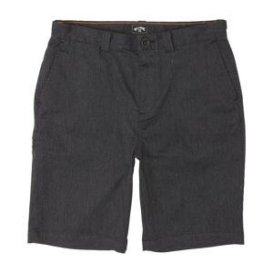 Boys' Carter Stretch Walkshort  - Black - Size: 22