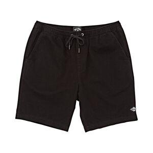 Billabong Boys' Larry Layback Twill Walkshort  - Black - Size: Small