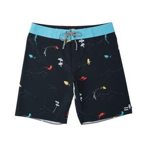 Boys' (2-7) One Fish Two Fish Pro Boardshort  - Black - Size: Medium
